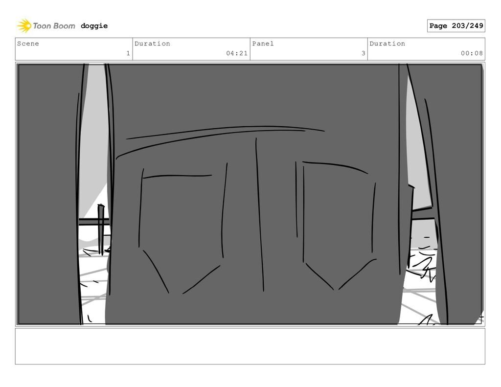 Scene 1 Duration 04:21 Panel 3 Duration 00:08 d...