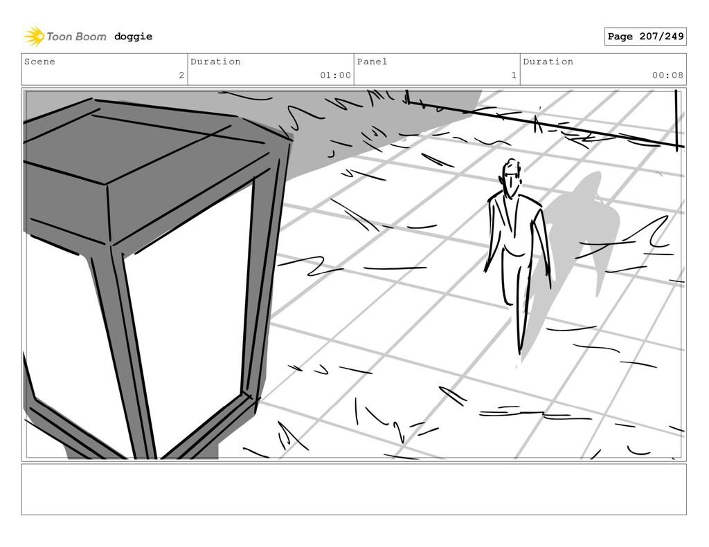 Scene 2 Duration 01:00 Panel 1 Duration 00:08 d...
