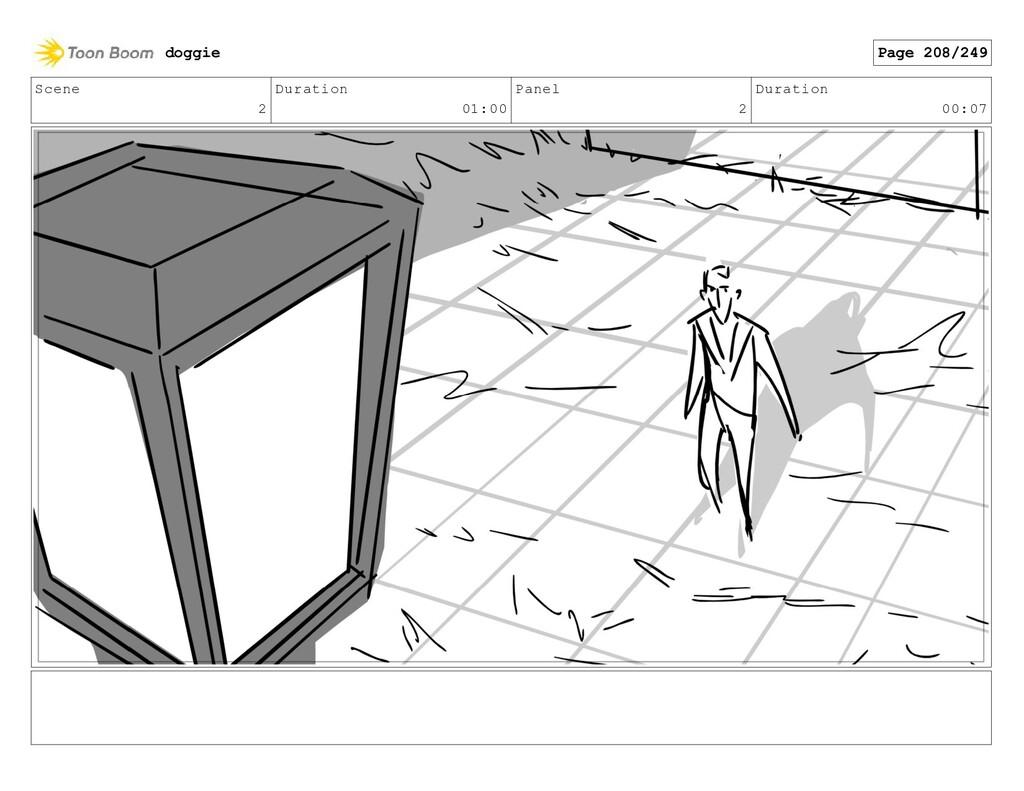 Scene 2 Duration 01:00 Panel 2 Duration 00:07 d...