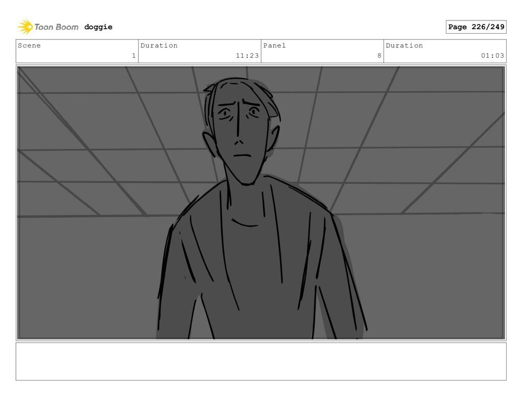 Scene 1 Duration 11:23 Panel 8 Duration 01:03 d...