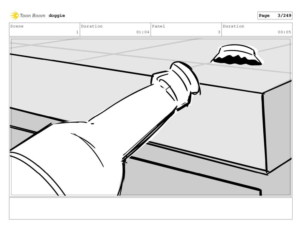 Scene 1 Duration 01:04 Panel 3 Duration 00:05 d...