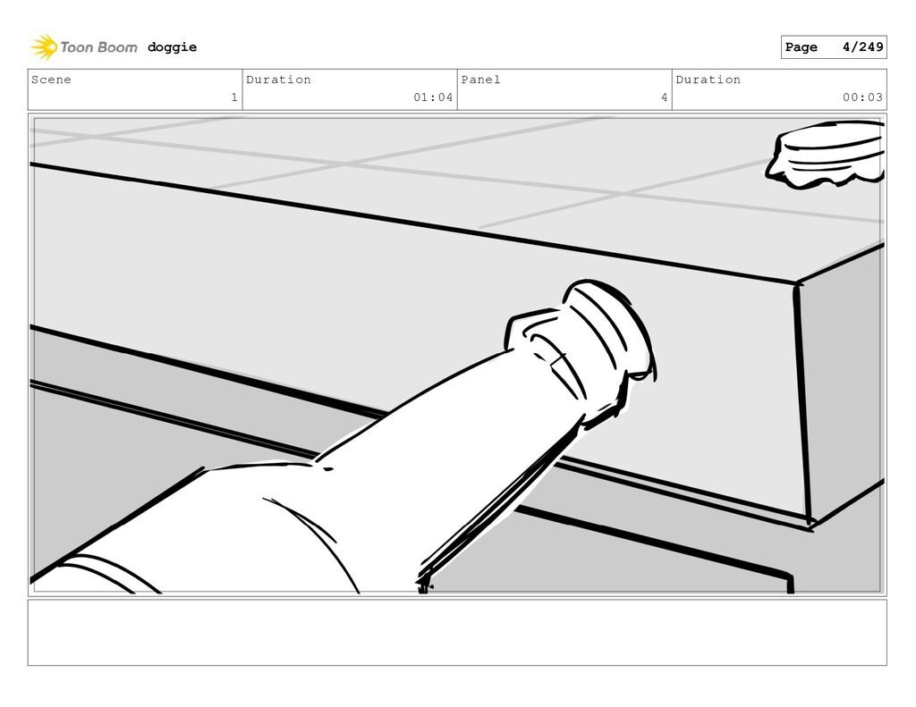 Scene 1 Duration 01:04 Panel 4 Duration 00:03 d...