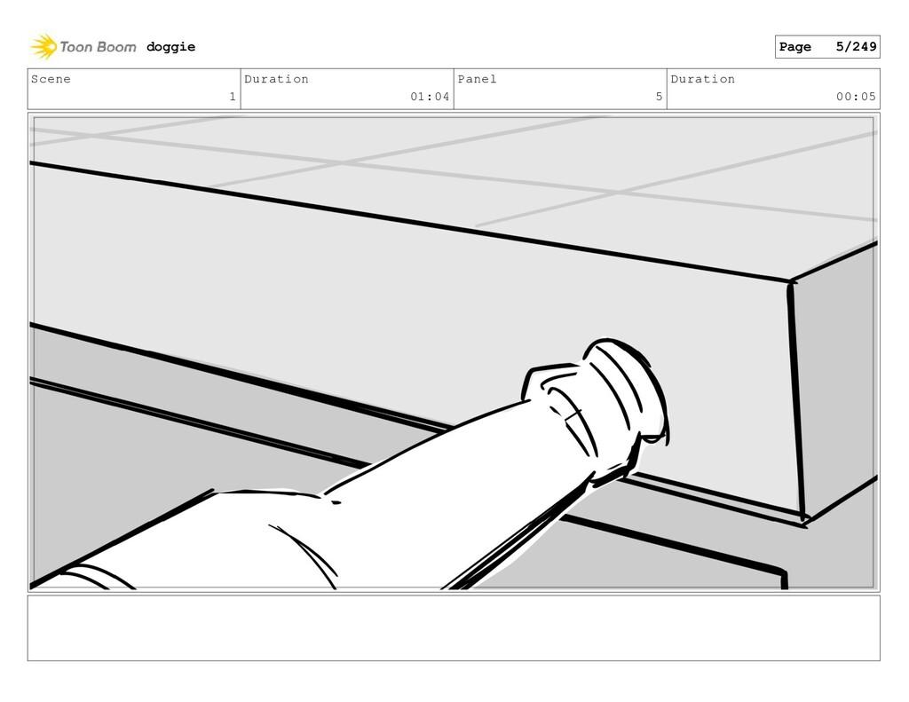 Scene 1 Duration 01:04 Panel 5 Duration 00:05 d...
