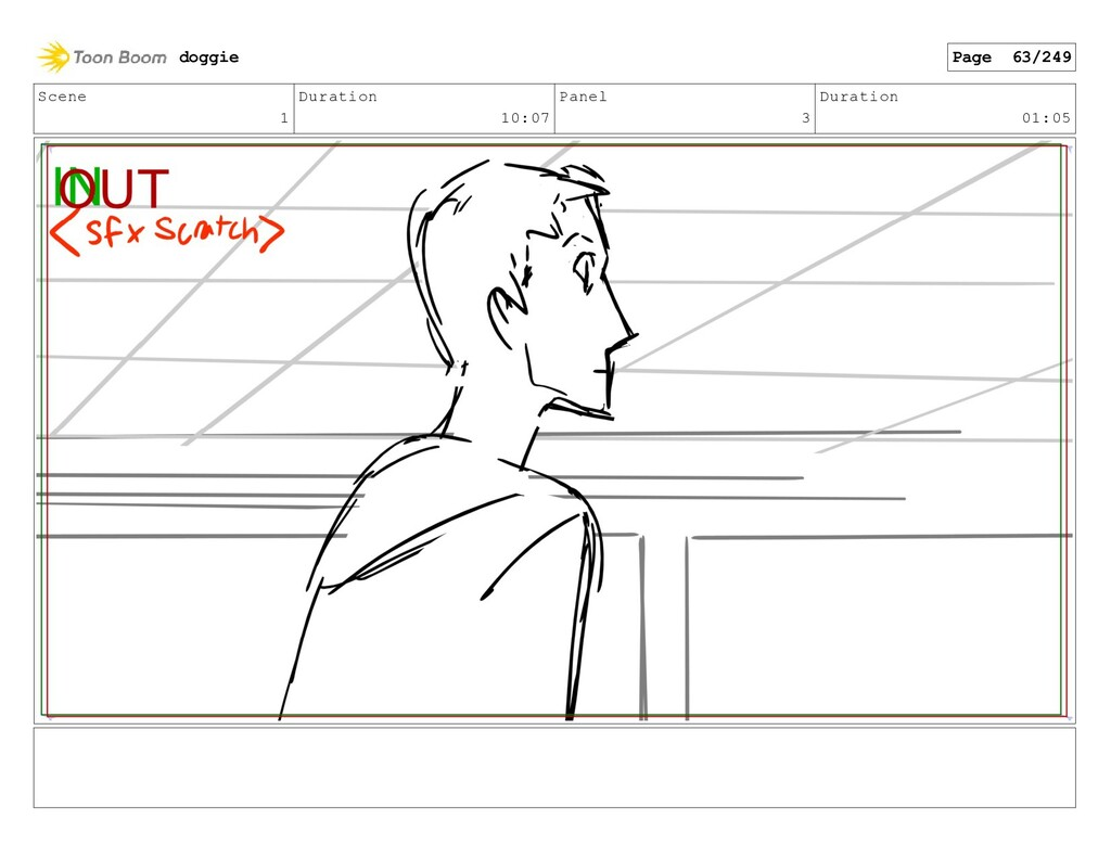 Scene 1 Duration 10:07 Panel 3 Duration 01:05 d...
