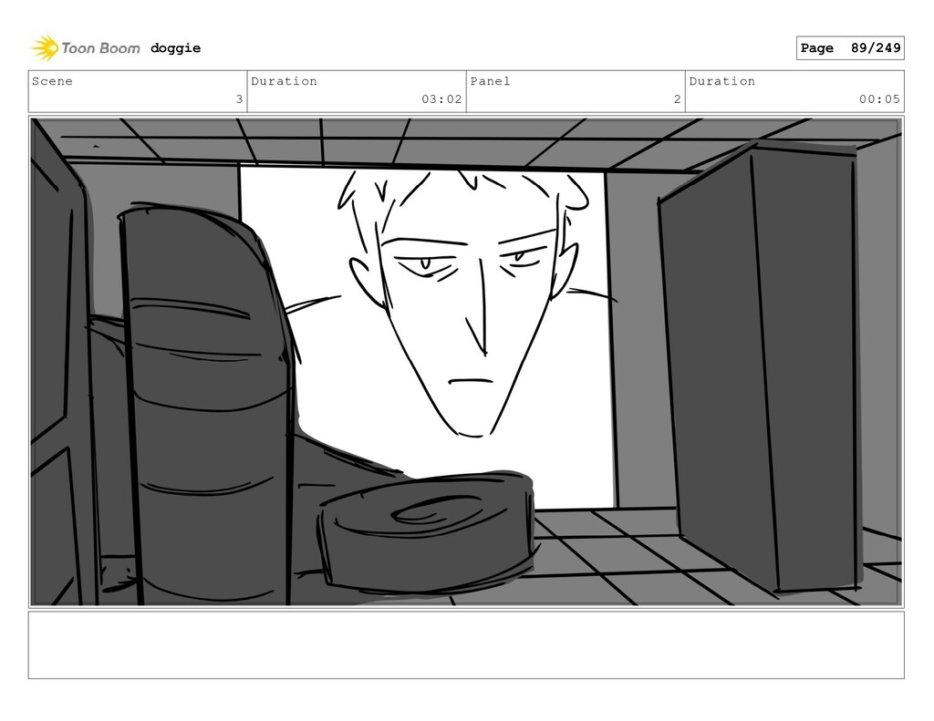 Scene 3 Duration 03:02 Panel 2 Duration 00:05 d...