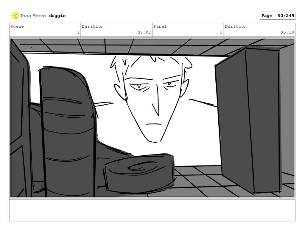 Scene 3 Duration 03:02 Panel 3 Duration 00:18 d...