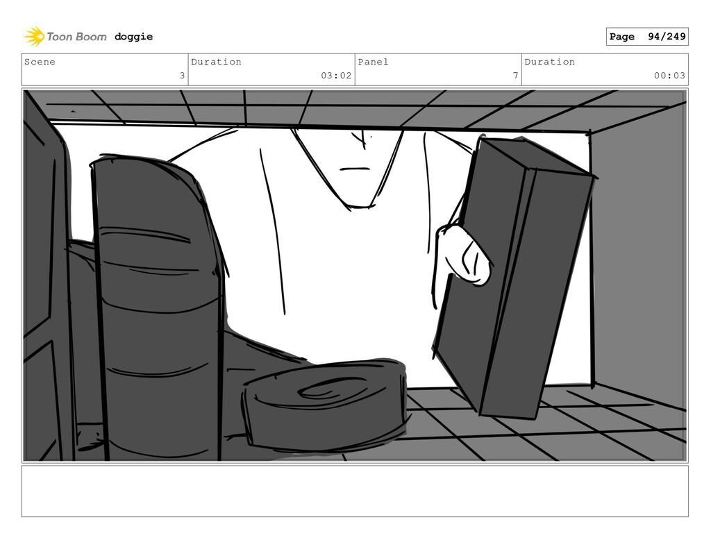 Scene 3 Duration 03:02 Panel 7 Duration 00:03 d...