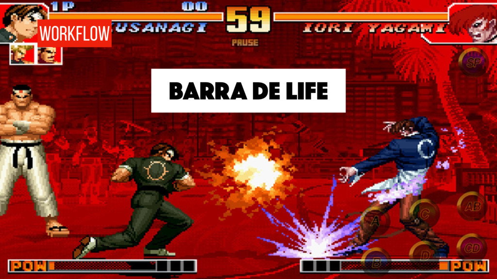 BARRA DE LIFE WORKFLOW