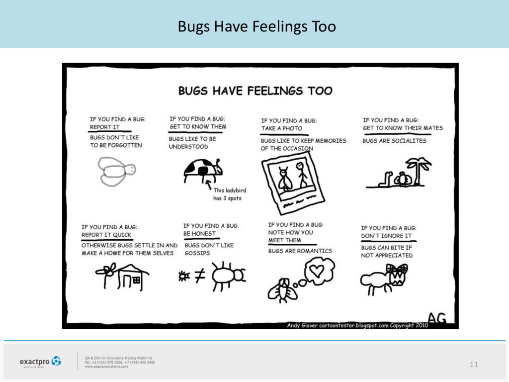 Bugs Have Feelings Too 11