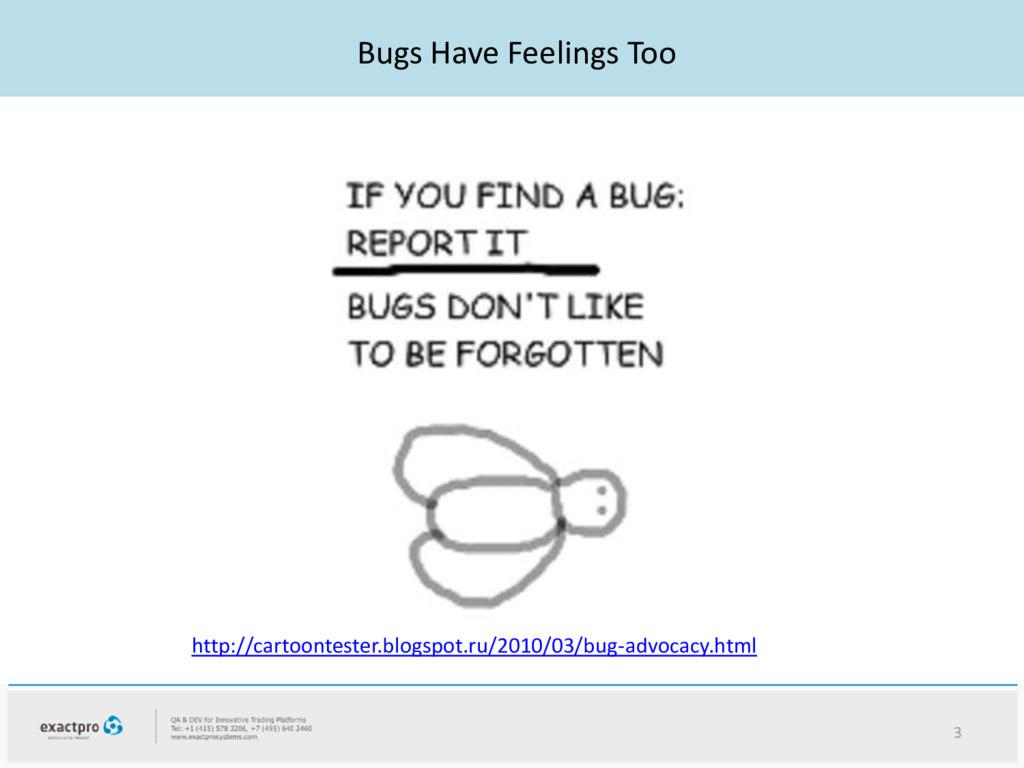 Bugs Have Feelings Too 3 http://cartoontester.b...