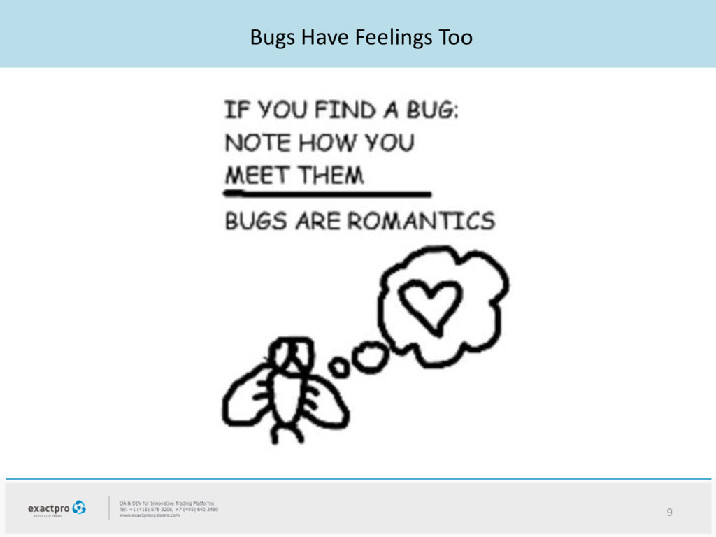 Bugs Have Feelings Too 9