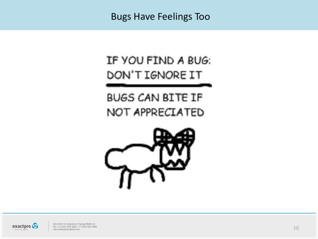 Bugs Have Feelings Too 10