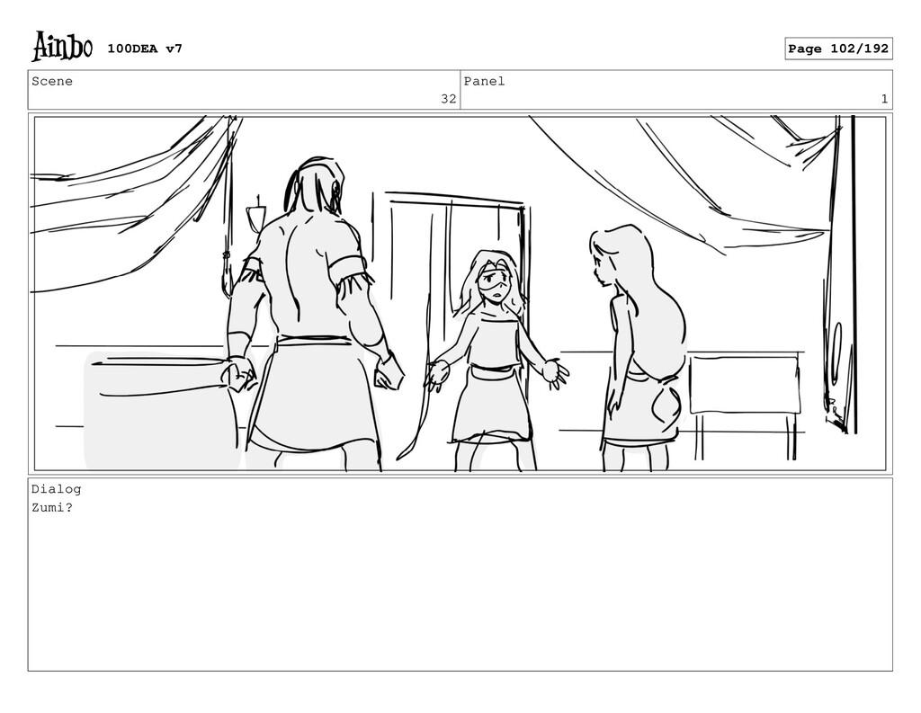 Scene 32 Panel 1 Dialog Zumi? 100DEA v7 Page 10...