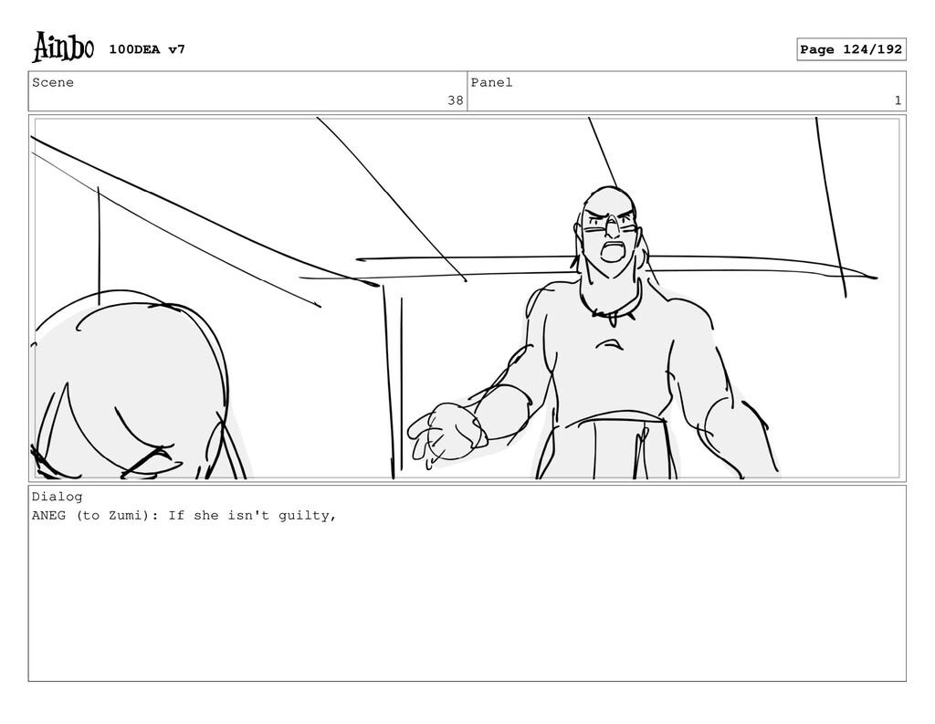 Scene 38 Panel 1 Dialog ANEG (to Zumi): If she ...