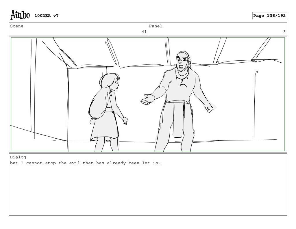 Scene 41 Panel 3 Dialog but I cannot stop the e...