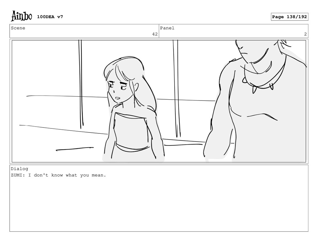 Scene 42 Panel 2 Dialog ZUMI: I don't know what...