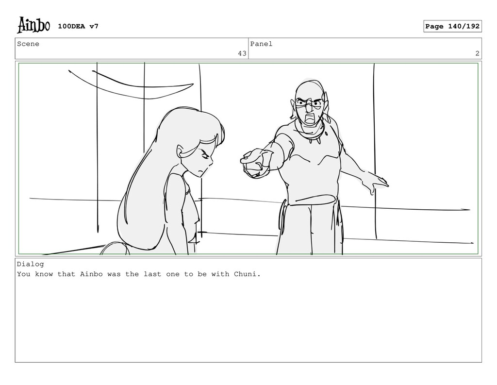 Scene 43 Panel 2 Dialog You know that Ainbo was...