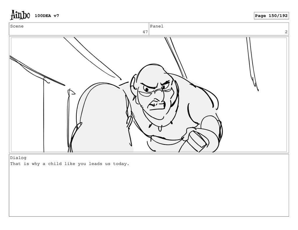 Scene 47 Panel 2 Dialog That is why a child lik...