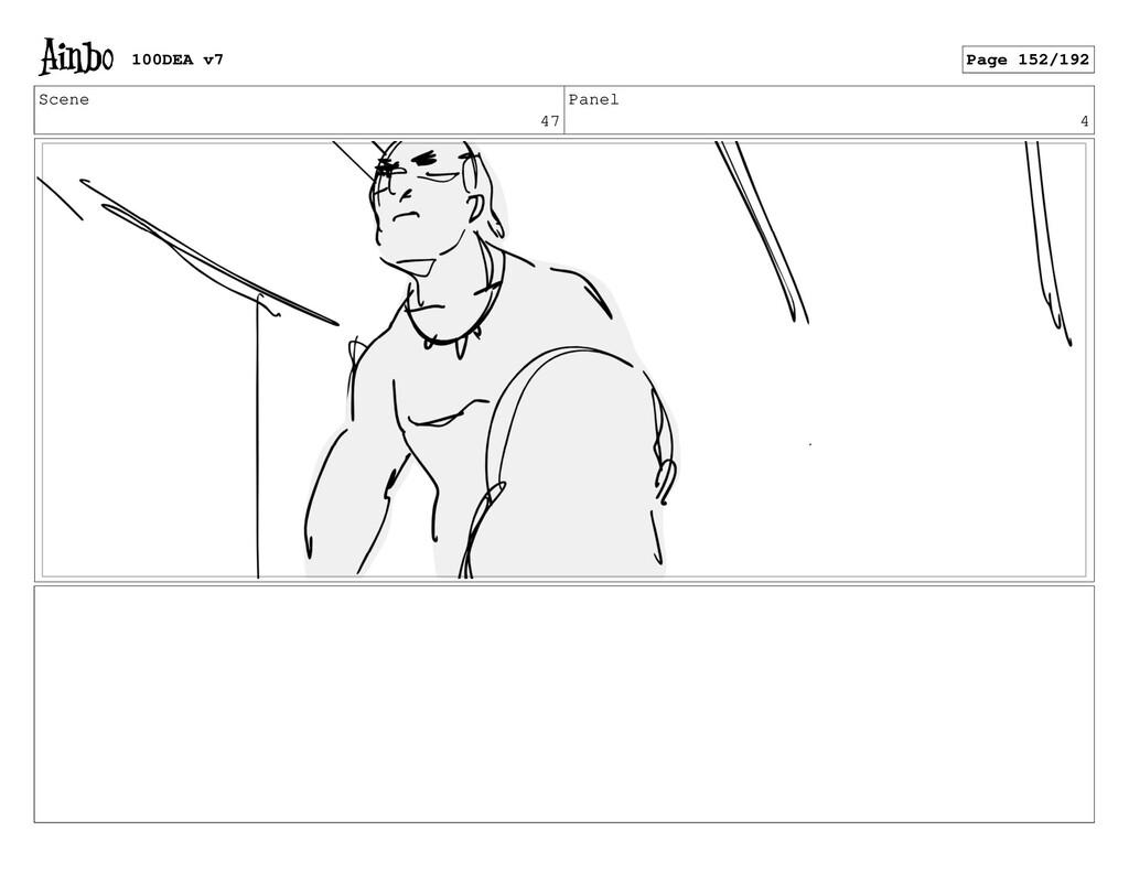 Scene 47 Panel 4 100DEA v7 Page 152/192