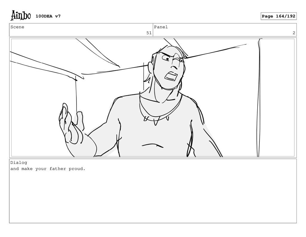 Scene 51 Panel 2 Dialog and make your father pr...