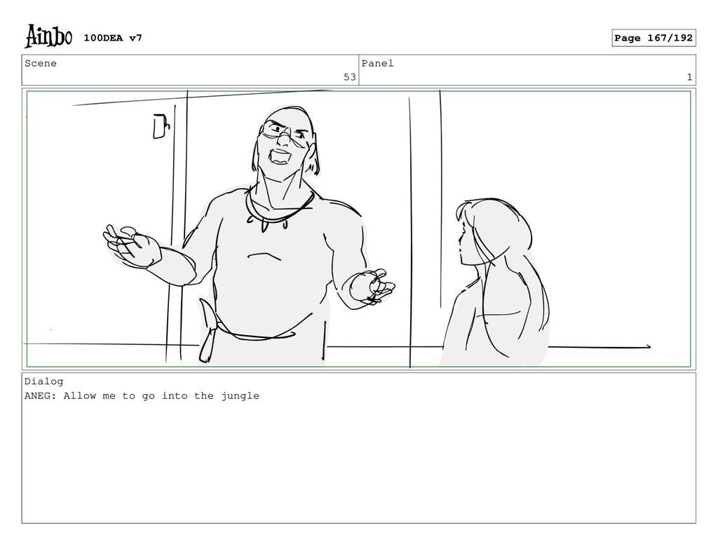 Scene 53 Panel 1 Dialog ANEG: Allow me to go in...