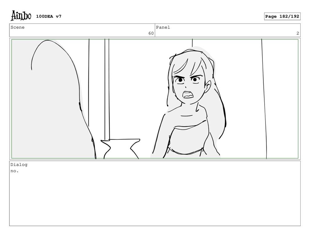 Scene 60 Panel 2 Dialog no. 100DEA v7 Page 182/...