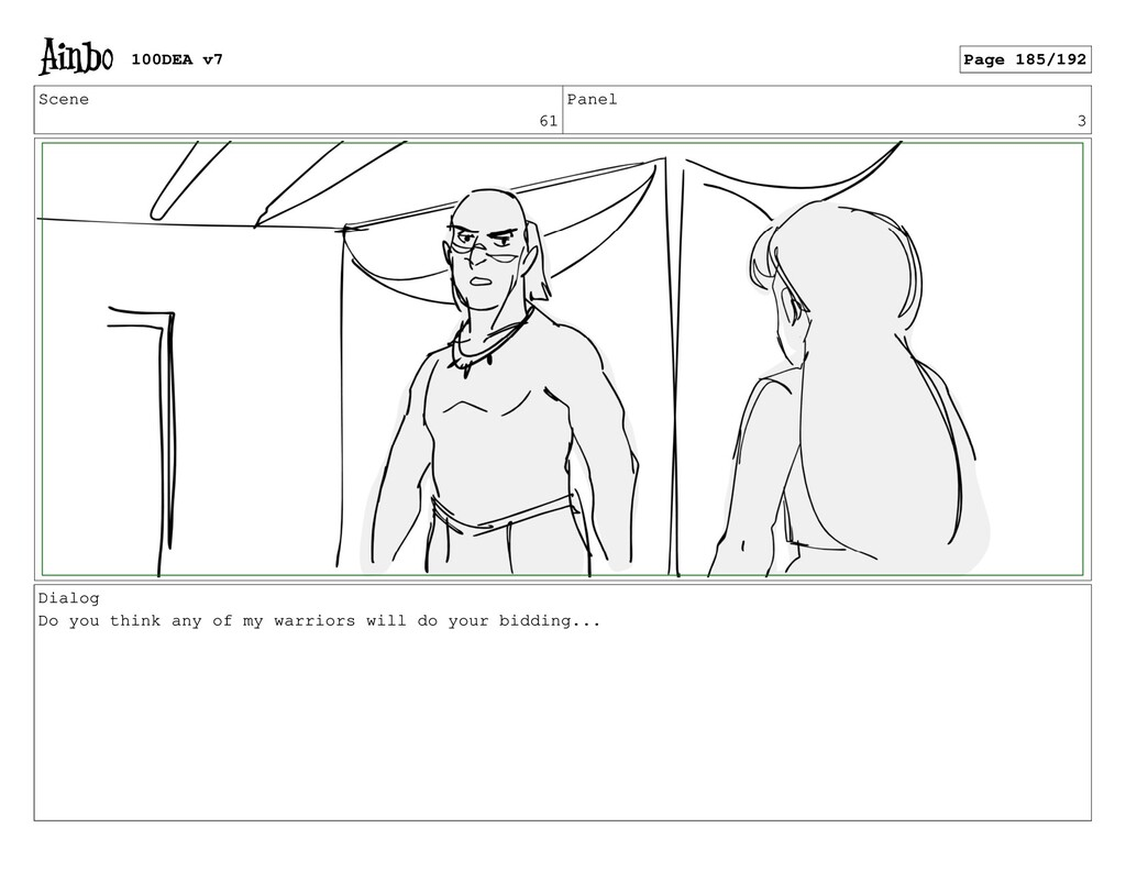 Scene 61 Panel 3 Dialog Do you think any of my ...