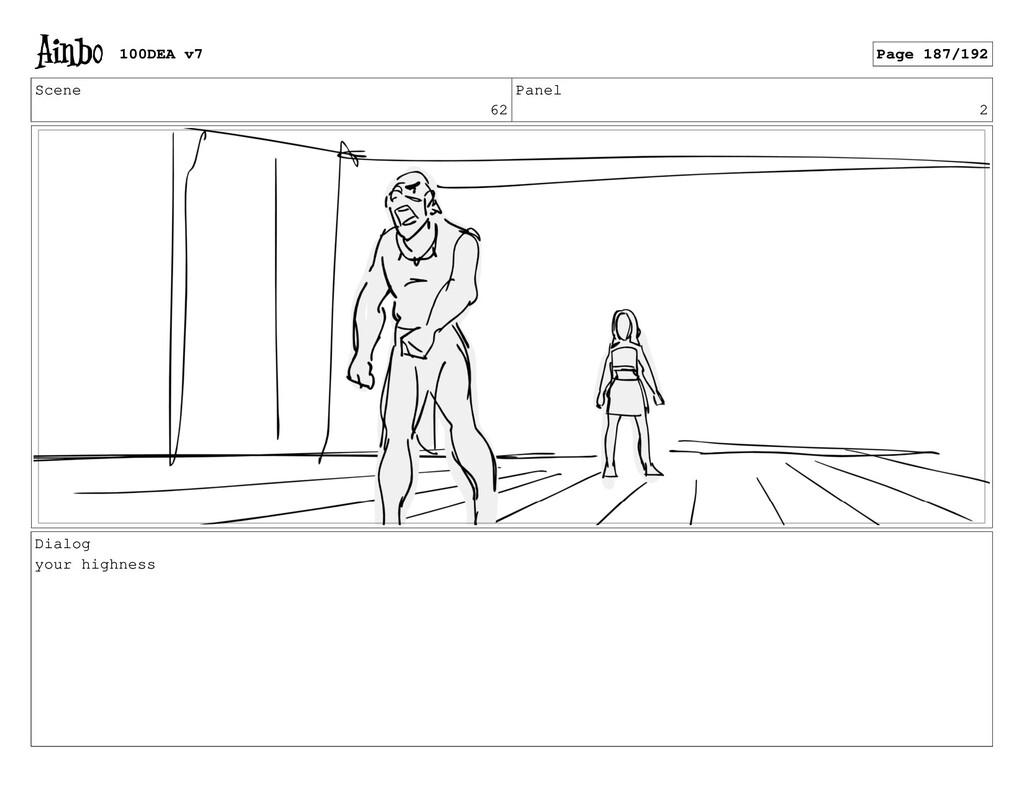 Scene 62 Panel 2 Dialog your highness 100DEA v7...