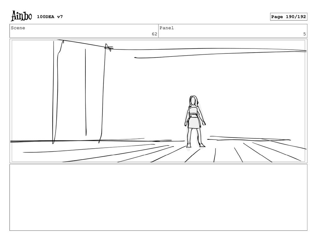 Scene 62 Panel 5 100DEA v7 Page 190/192