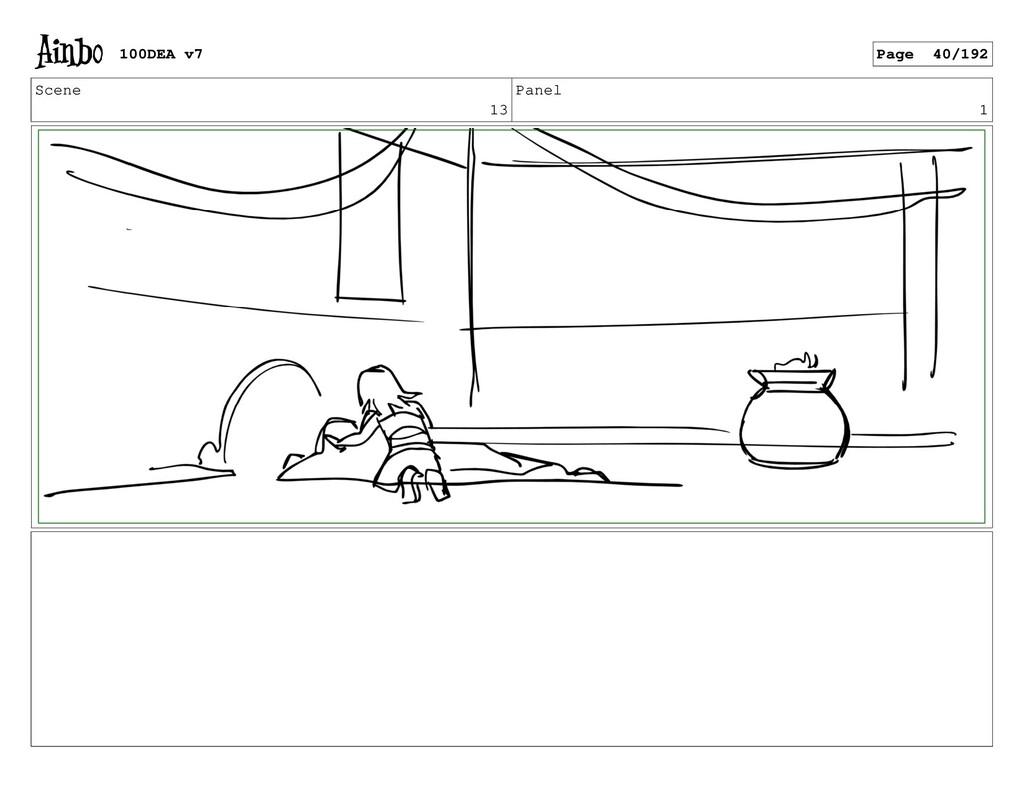 Scene 13 Panel 1 100DEA v7 Page 40/192