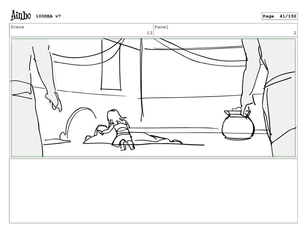 Scene 13 Panel 2 100DEA v7 Page 41/192