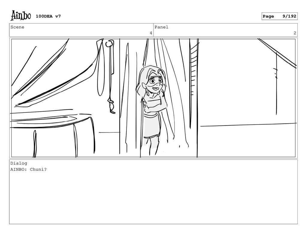 Scene 4 Panel 2 Dialog AINBO: Chuni? 100DEA v7 ...