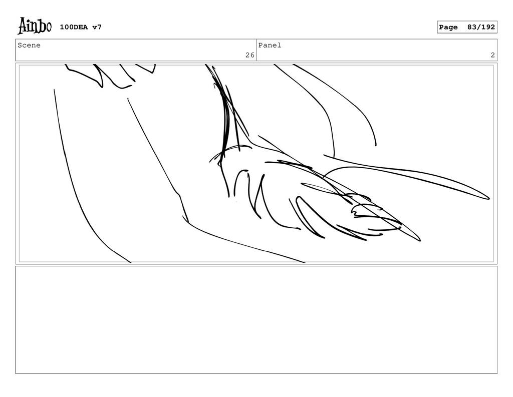 Scene 26 Panel 2 100DEA v7 Page 83/192
