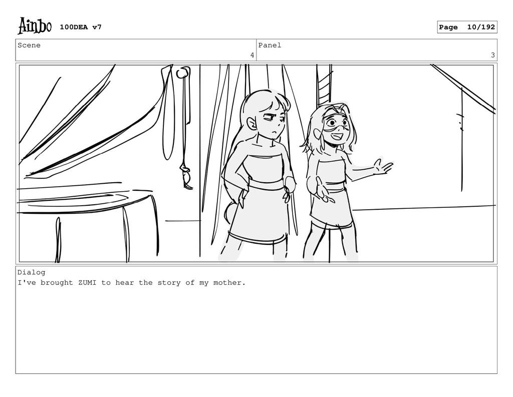 Scene 4 Panel 3 Dialog I've brought ZUMI to hea...