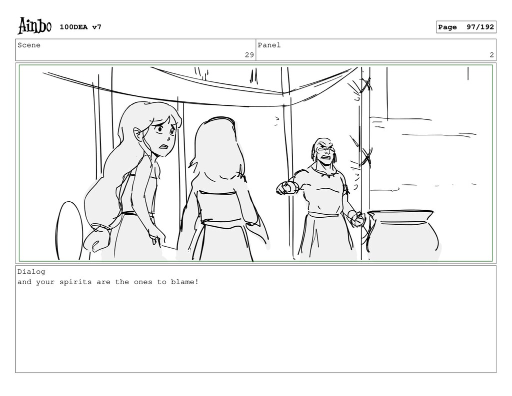 Scene 29 Panel 2 Dialog and your spirits are th...