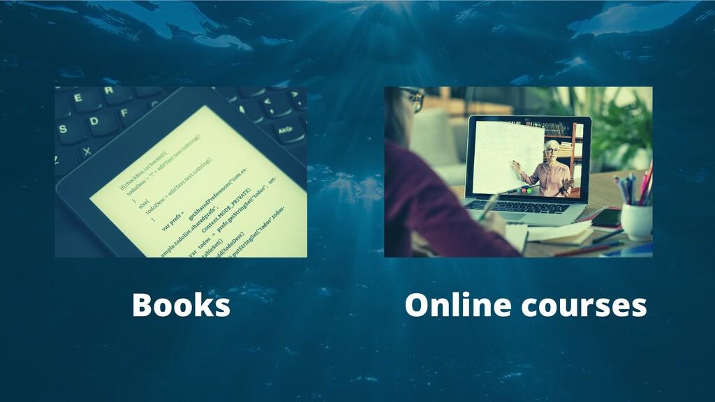 Books Online courses