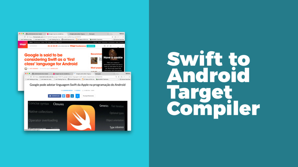 Swift to Android Target Compiler