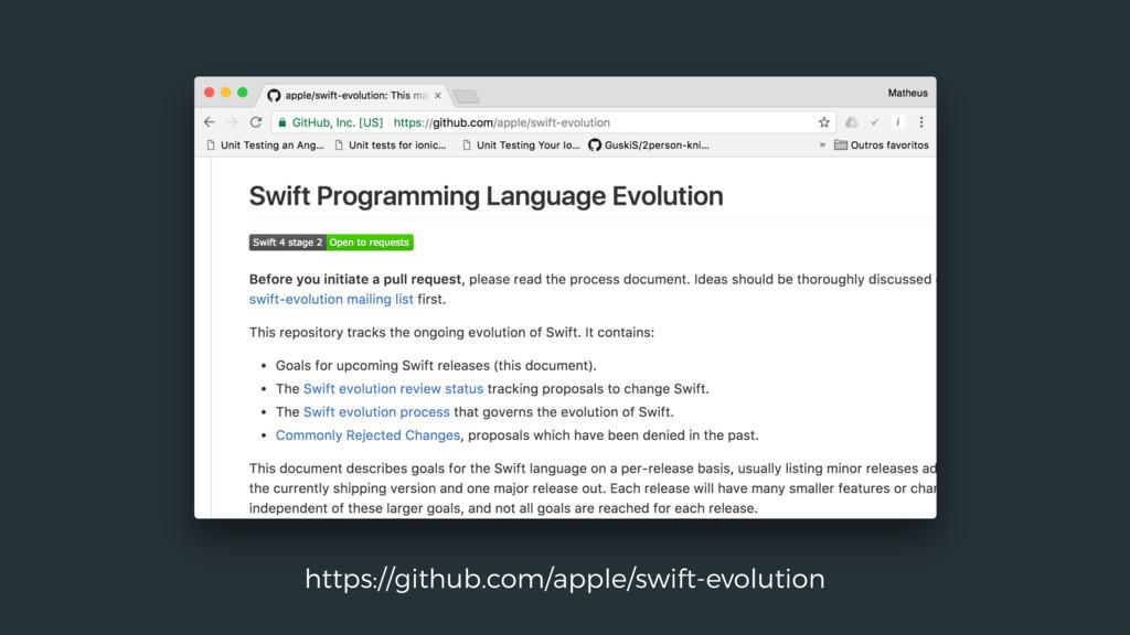 https://github.com/apple/swift-evolution