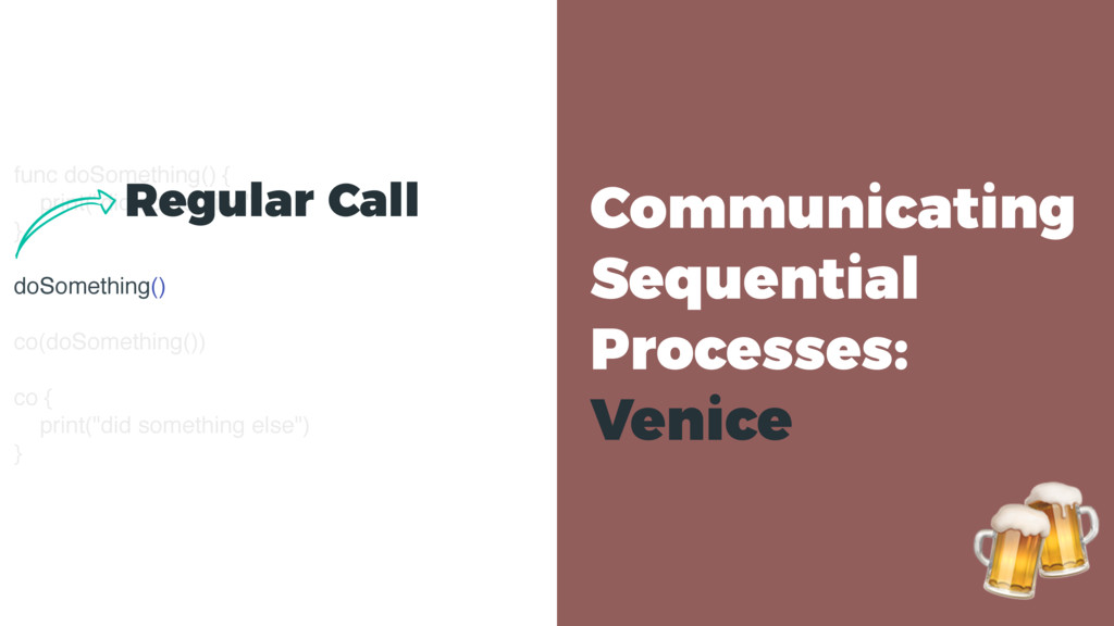 Communicating Sequential Processes: Venice fun...