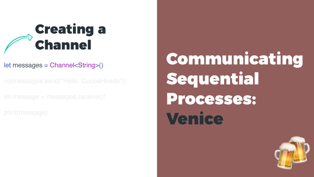 Communicating Sequential Processes: Venice let...