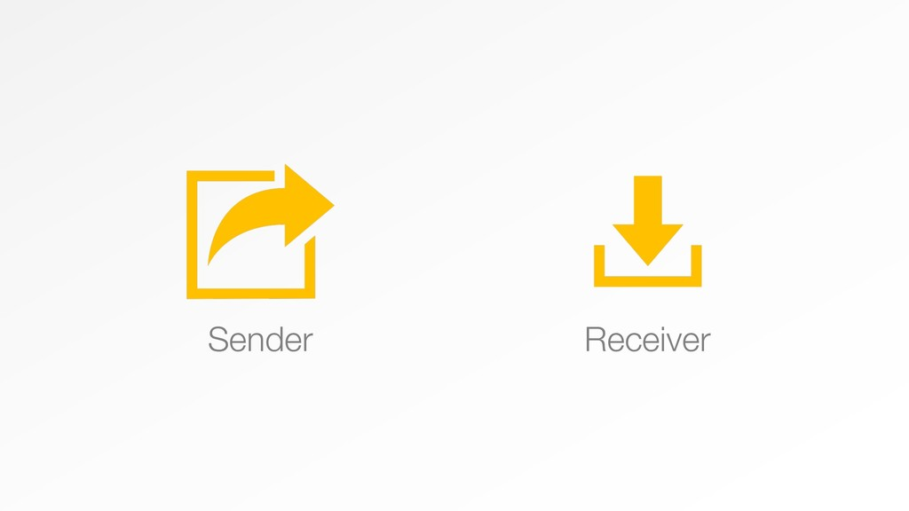 Sender Receiver