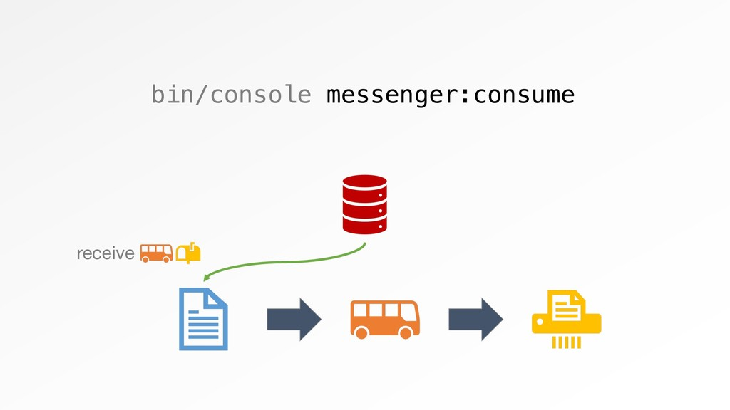 bin/console messenger:consume receive