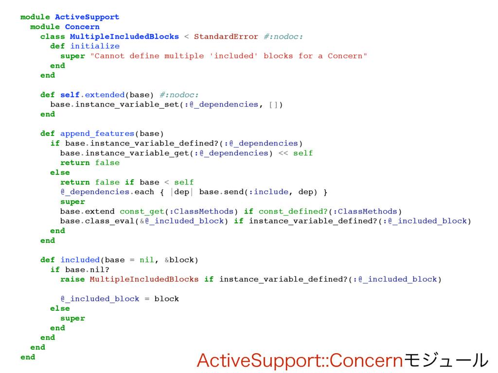 """""""DUJWF4VQQPSU$PODFSOϞδϡʔϧ module ActiveSuppor..."""