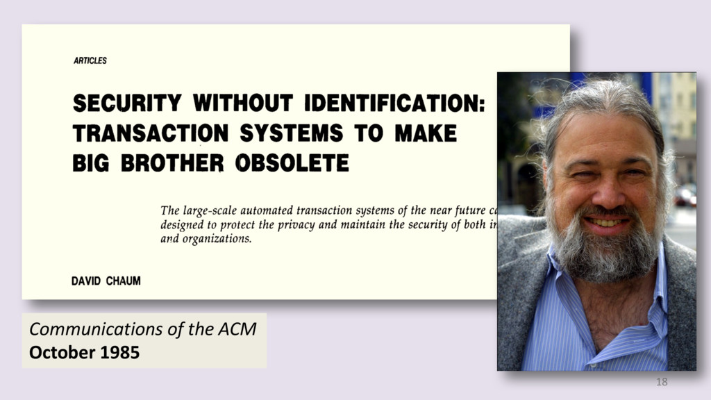 18 Communications of the ACM October 1985