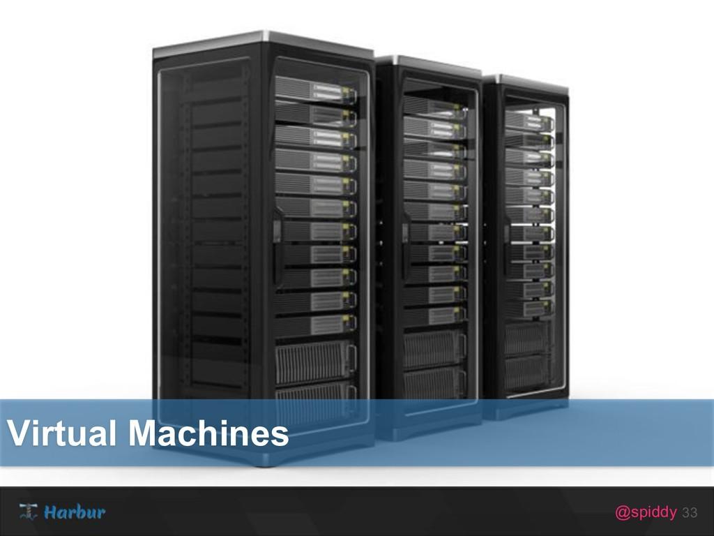 @spiddy 33 Virtual Machines