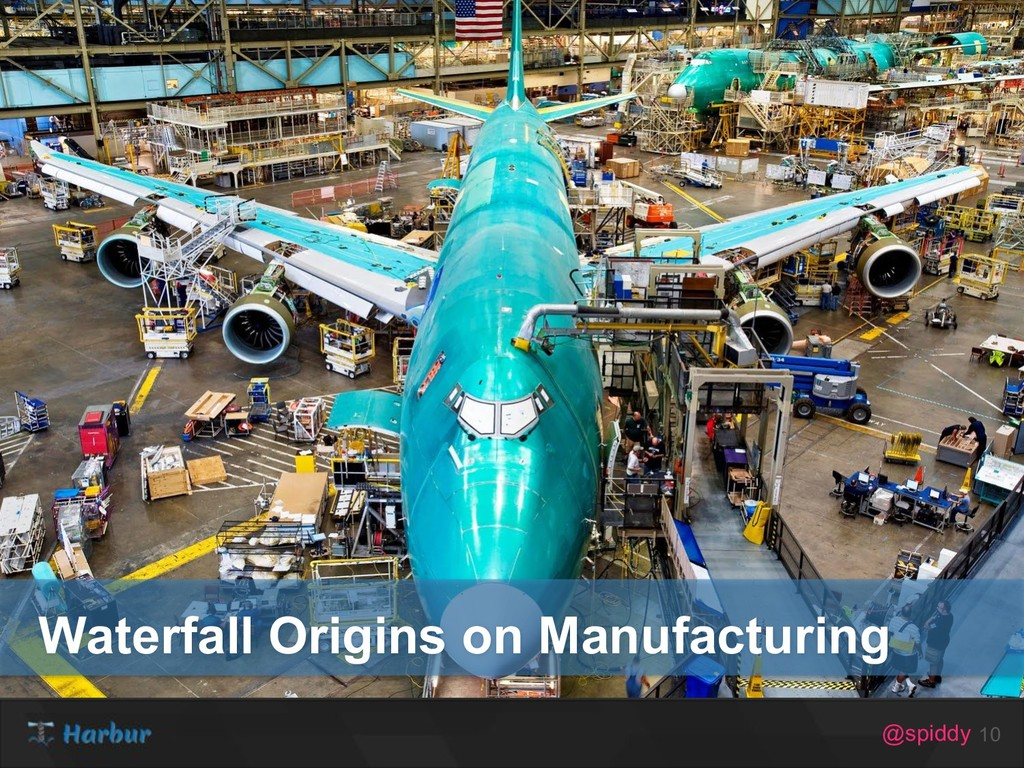 @spiddy 10 Waterfall Origins on Manufacturing