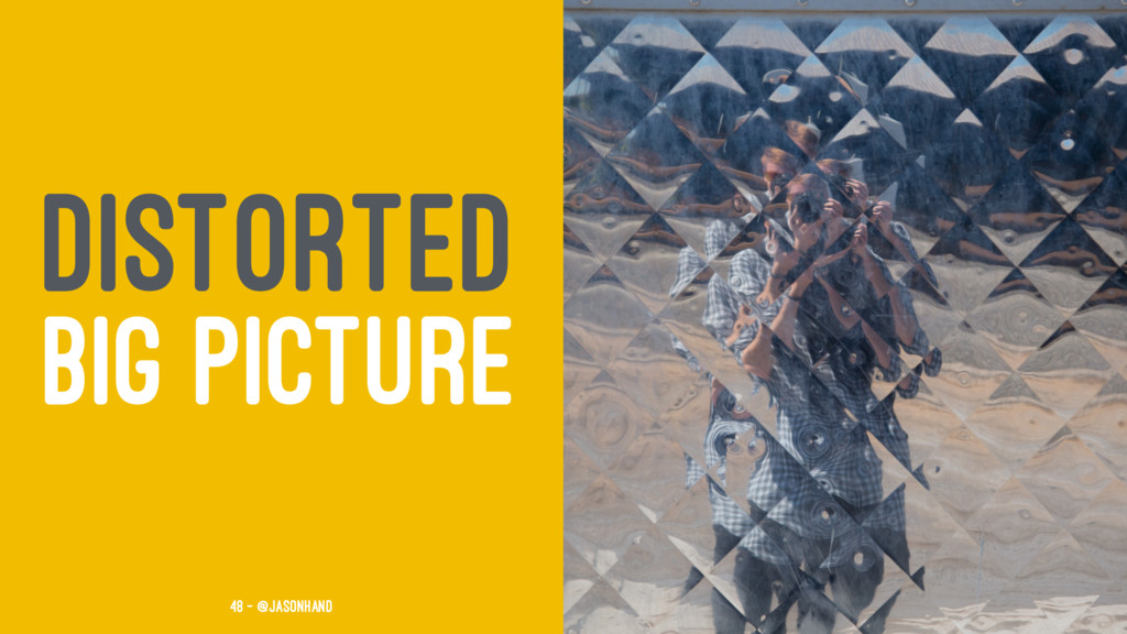 DISTORTED BIG PICTURE 48 — @jasonhand