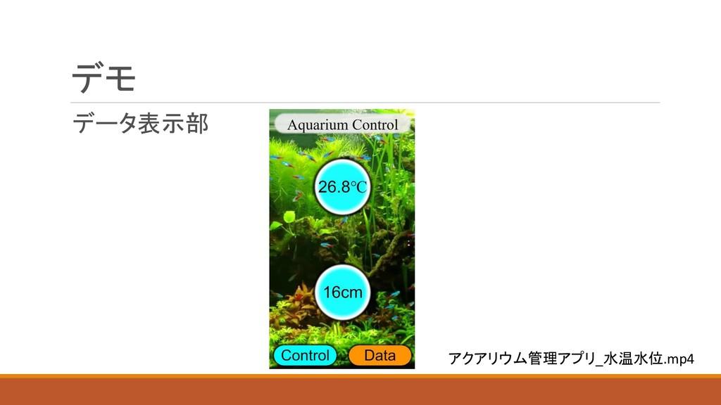 デモ データ表示部 アクアリウム管理アプリ_水温水位.mp4