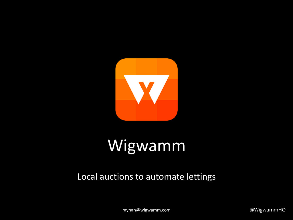 Wigwamm Local auctions to automate lettings @Wi...
