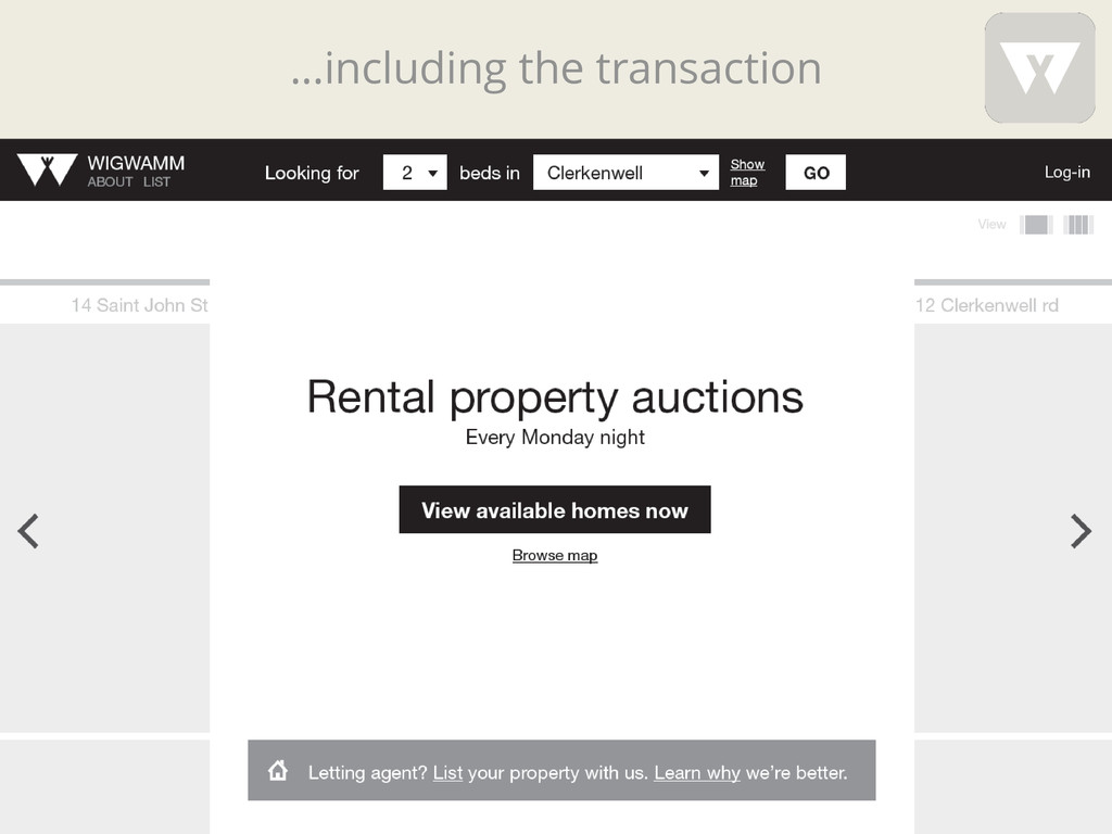 …including the transaction